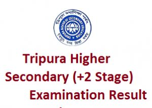 Tripura Higher Secondary Result 2016, TBSE HS (12th Class) Results 2016, Students check online TBSE Class 12th Results 2016, Tripura HS Result dates.
