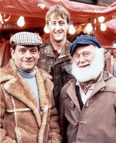 Only Fools and Horses - Del Boy, Rodney and Uncle Albert