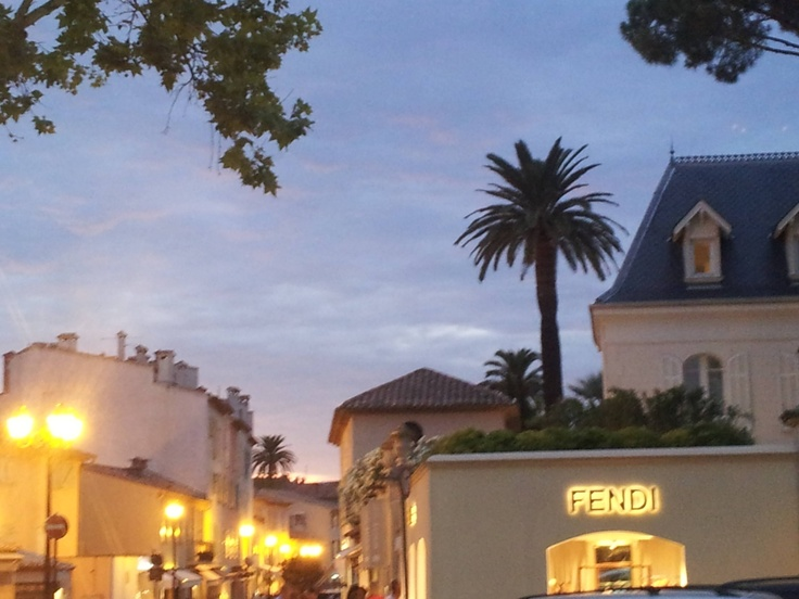 St Tropez from Place des Lices