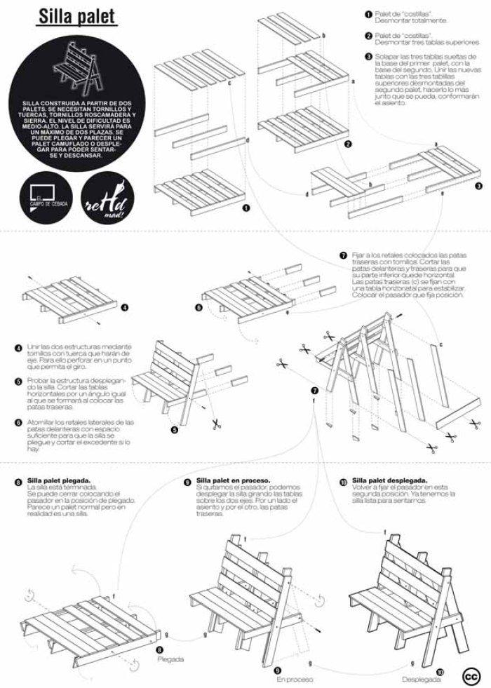 Las 25 mejores ideas sobre Planos De Cama Plegable en  : 4147a417a5f55c0461e091015ad472d3 from es.pinterest.com size 700 x 981 jpeg 98kB