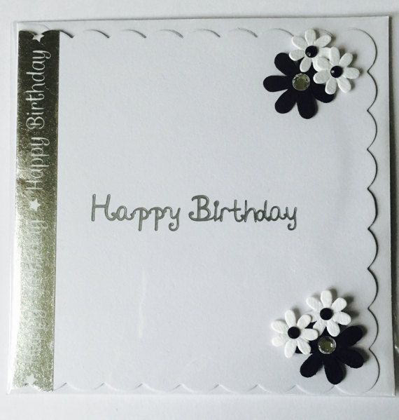 Handmade Happy Birthday Greetings Card  by CreationsbyLindsay17