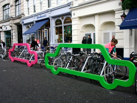 more bikes to every car! #cycling
