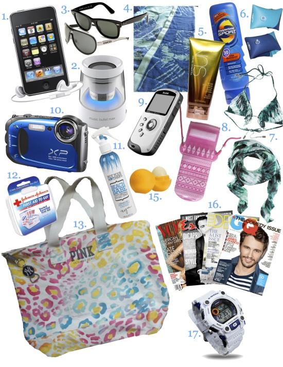 Best 25  Beach bag essentials ideas only on Pinterest   Beach ...