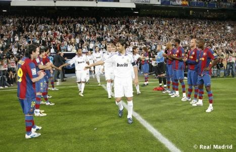 Real Madrid v. Barcelona match