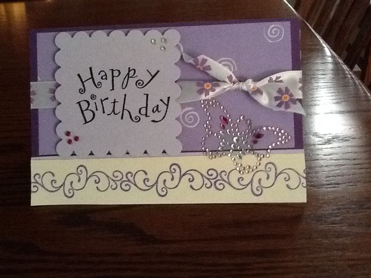 Front of Birthday pop up card