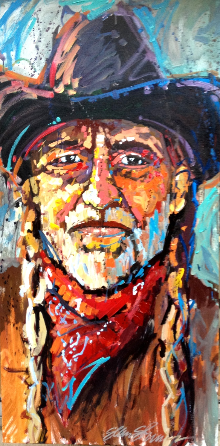 Willie Nelson - Original Art by Arkansas Artist Sean Shrum ... The Art Of Getting By Drawings