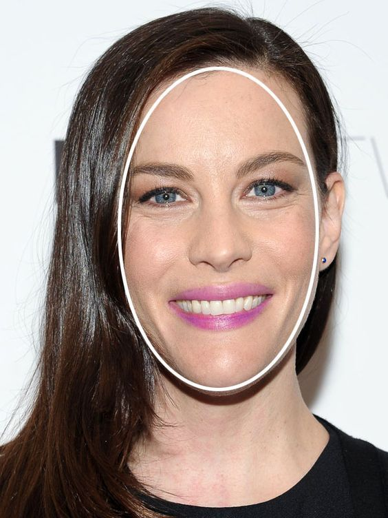 Do you have a long face shape like Liv Tyler? http://beautyeditor.ca/2014/05/30/best-bangs-for-long-face/