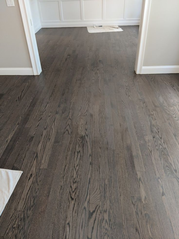 Minwax Stain 50 Jacobean25 Classic Gray25 Weathered Oak  Lewis House in 2019  Wood floor