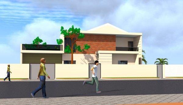 Projet De Construction D Une Villa A Cotonou Au Benin
