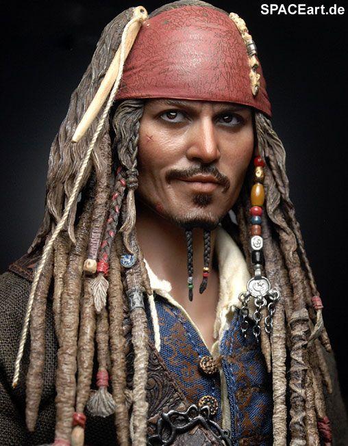 Fluch der Karibik: Captain Jack Sparrow - Deluxe Figur, Fertig-Modell ... http://spaceart.de/produkte/poc002.php