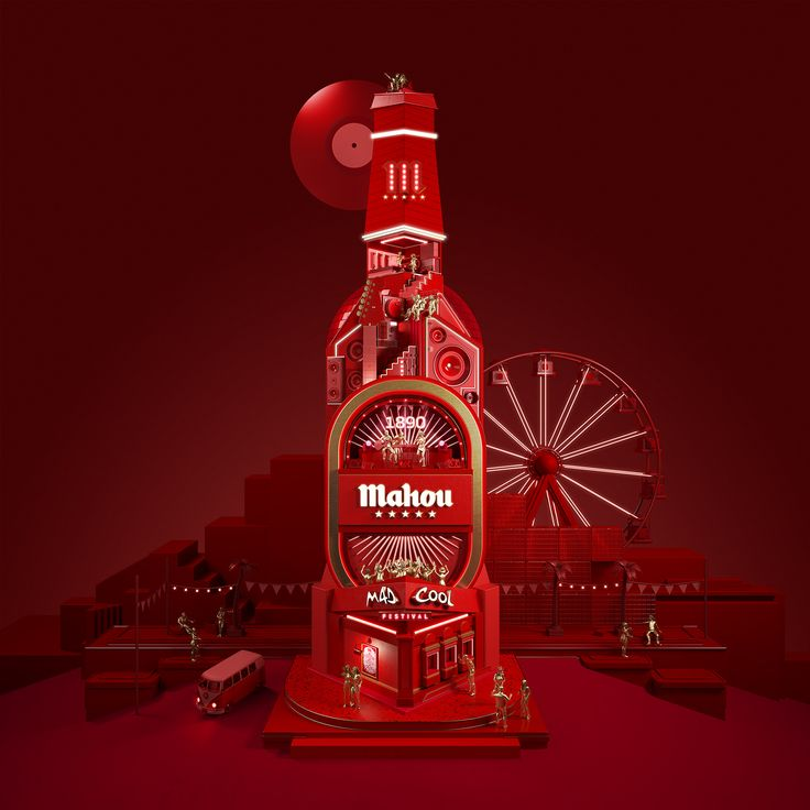 Mahou & Mad Cool Festival on Behance