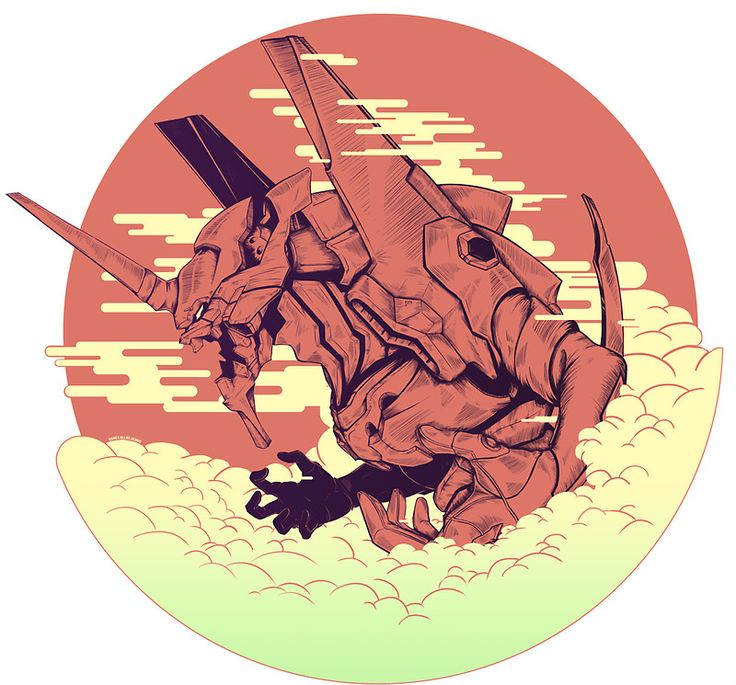 nge~evangelion///Unit 01 [Neon Genesis Evangelion] by somecallmejdawg