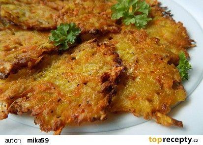"""Zeleninové """"rösti"""" recept - TopRecepty.cz"""