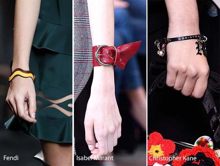 Fall/ Winter 2016-2017 Accessory, Jewelry Trends: Wristbands