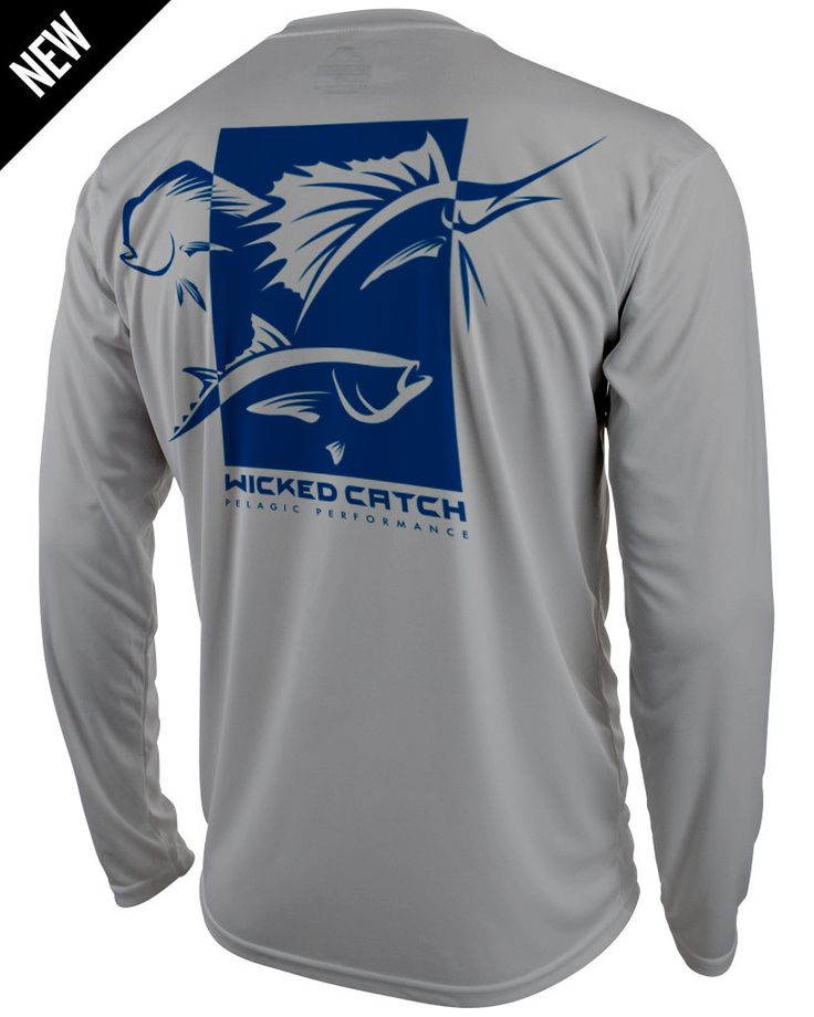 Pelagic Performance Fishing Shirts - Wicked Catch