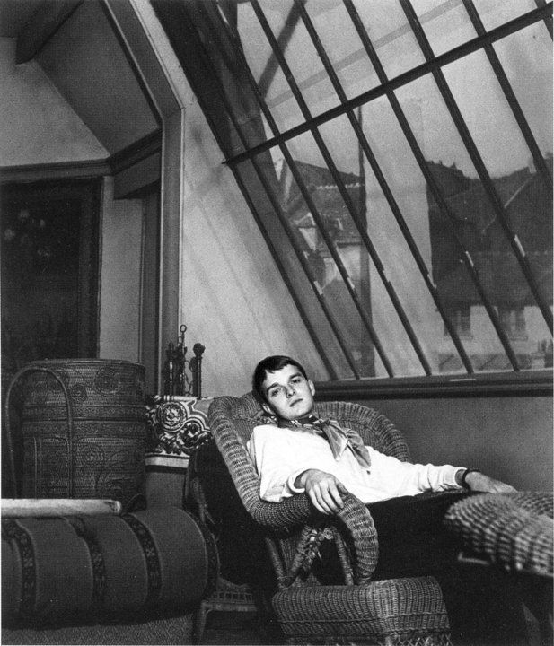Truman Capote  Paris, 1947