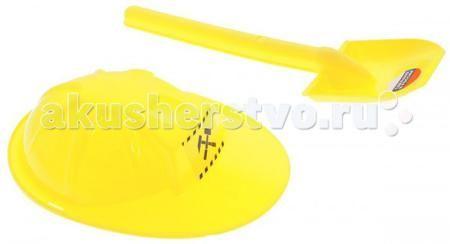 ZebraToys Лопата с каской  — 105р. -----------------------------  ZebraToys Лопата с каской сделает игры в песке еще более увлекательными и захватывающими.  Особенности: Набор включает в себя 2 предмета: лопатку и каску.  Элементы набора изготовлены из высококачественного и безопасного пластика, имеют яркий желтый цвет. Игры в песке способствуют развитию мелкой моторики ребенка, координации движений, тактильного и цветового восприятия, а также воображения и творческого мышления.  С набором…