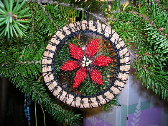 Christmas Flower by recycleddivas on Etsy, $5.00