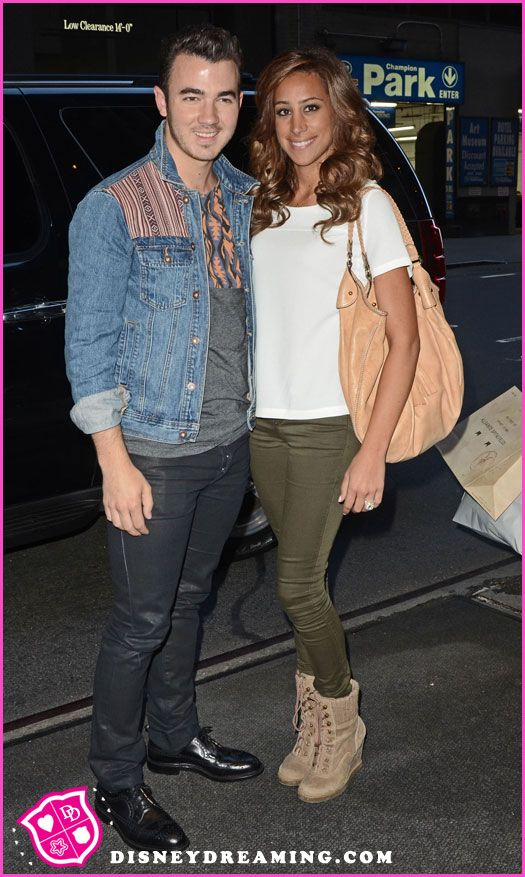 Kevin Jonas And Danielle Jonas In New York City On September 11, 2012