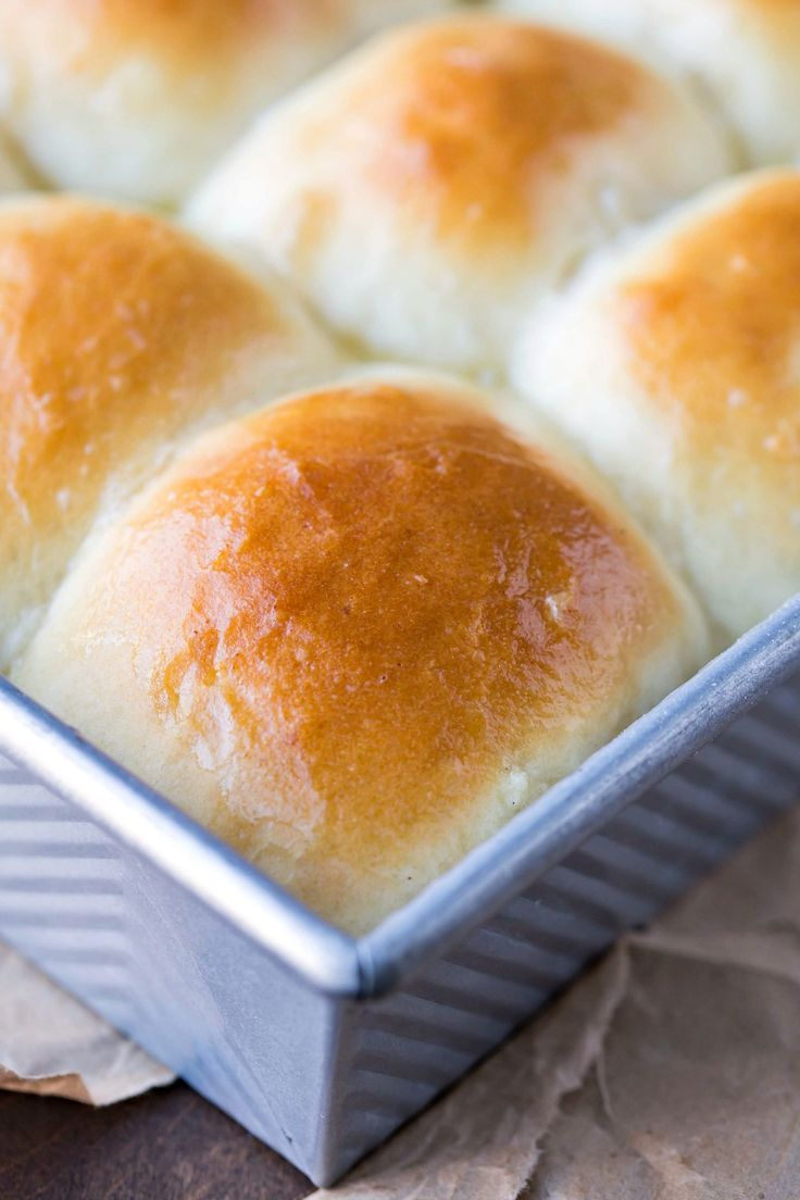 Soft and tender Amish Dinner Rolls are fluffy white dinner rolls with a perfect, buttery, tender crust and are made with mashed potato.