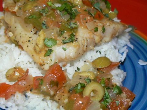 Swai Vera Cruz--here's a recipe for this classic Mexican seafood dish using Swai, an inexpensive, tasty white fish.  This dish has an incredible explosion of flavors and with Swai it's affordable.  http://www.cheap-bastid-cooks.com/