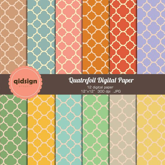 Hey, I found this really awesome Etsy listing at https://www.etsy.com/listing/176132857/quatrefoil-digital-paper-scrapbooking