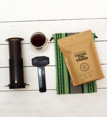Aeropress + 250g Bag Of Coffee + Hand-Woven Tais Bag    WithOneBean – Supporting farmers and their families to raise incomes, improve crop yields and thereby increasing livelihood opportunities.