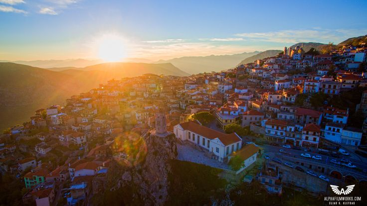 Arachova – Greece - http://bestdronestobuy.com/arachova-greece/