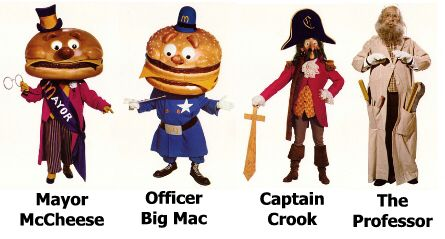 Billy Curtis was the original Mayor McCheese.