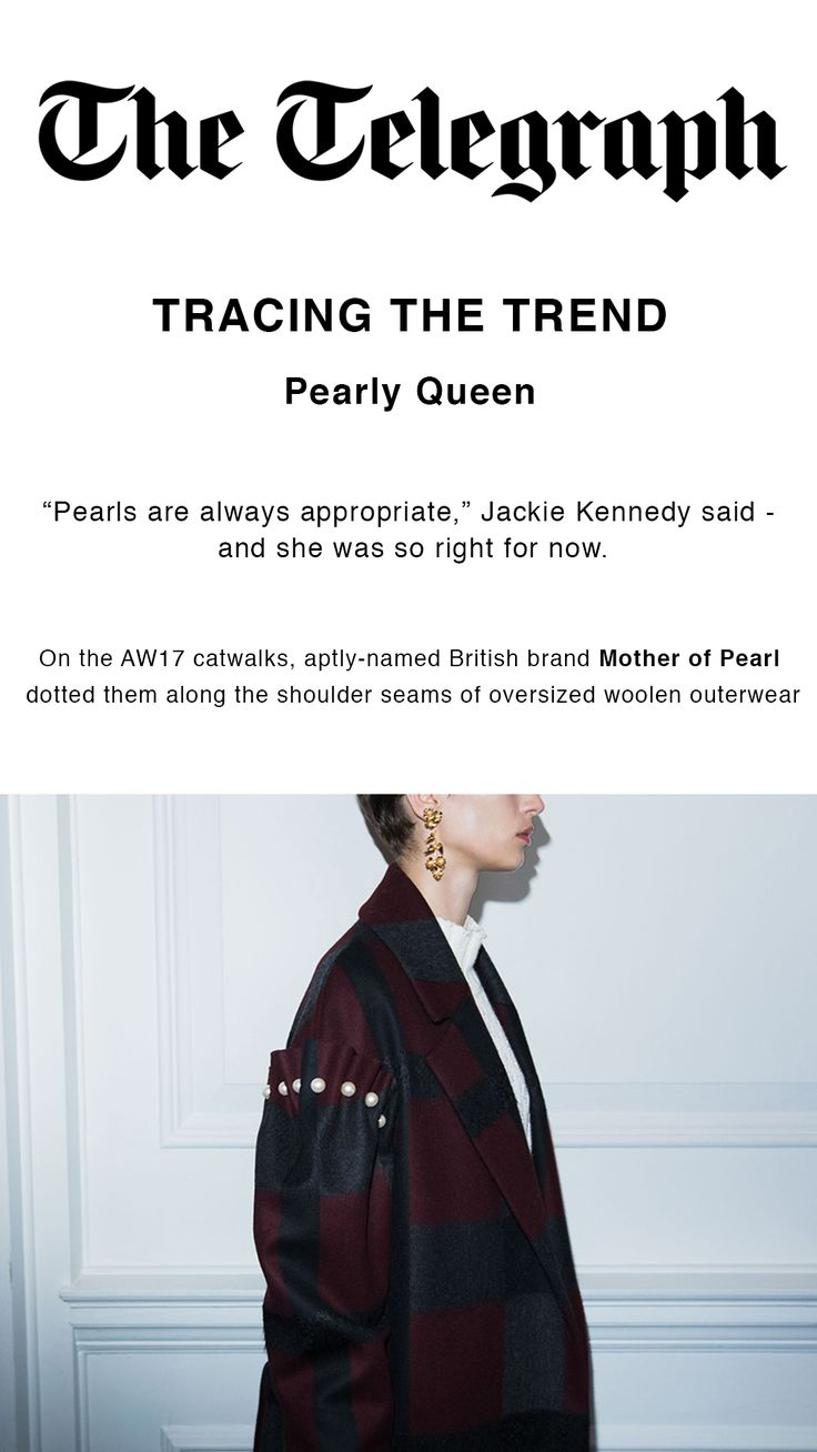 Pearly Queen trend on The Telegraph