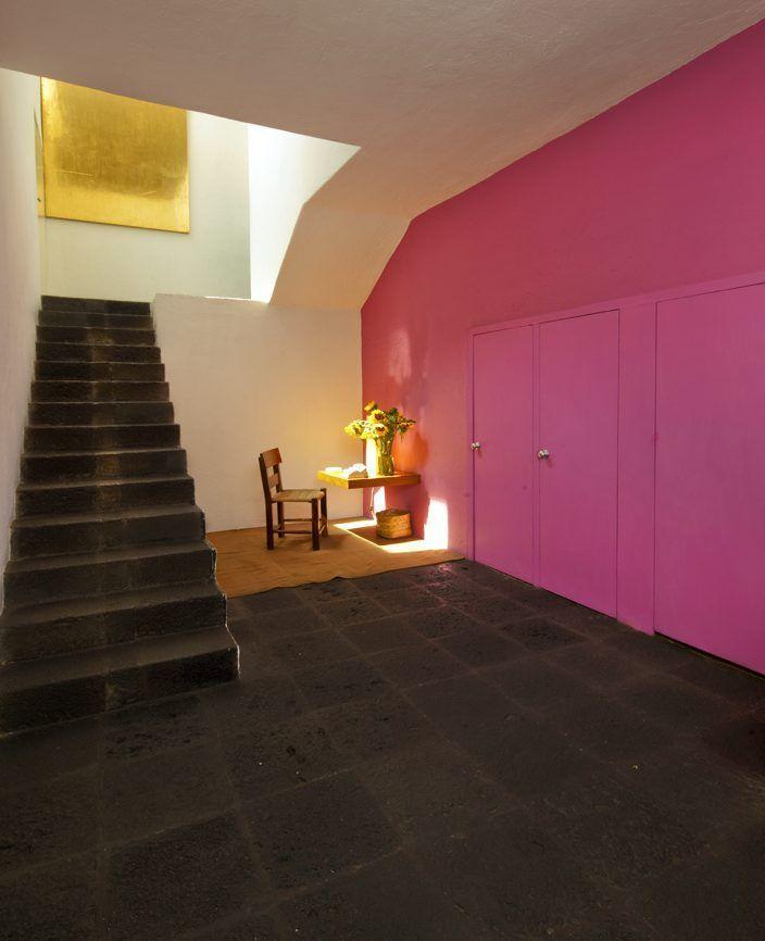 Casa barragán  Blocks of color, Los colores característicos de la arquitectura de Luis Barragán