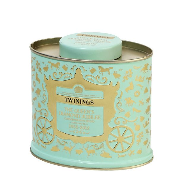 Twinings Tea Pack Tin Design Special Edition Queen