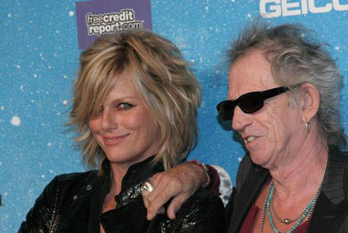 Spike TV's SCREAM 2009 Photo: Patti Hansen and Keith Richards