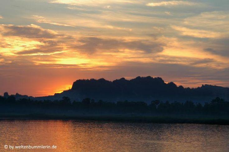 Mit dem Boot von Mawlamyaing nach Hpa- An ist nicht nur eine Flussreise, sondern auch eine Zeitreise nach Myanmar ins Jahr 2004.