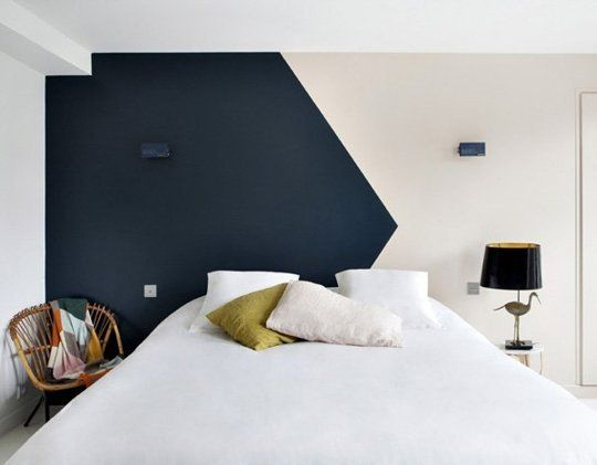 Get Creative With Your Next Paint Job 10 Ideas For Painting Outside The Lines White Bedroom Wallsbedroom
