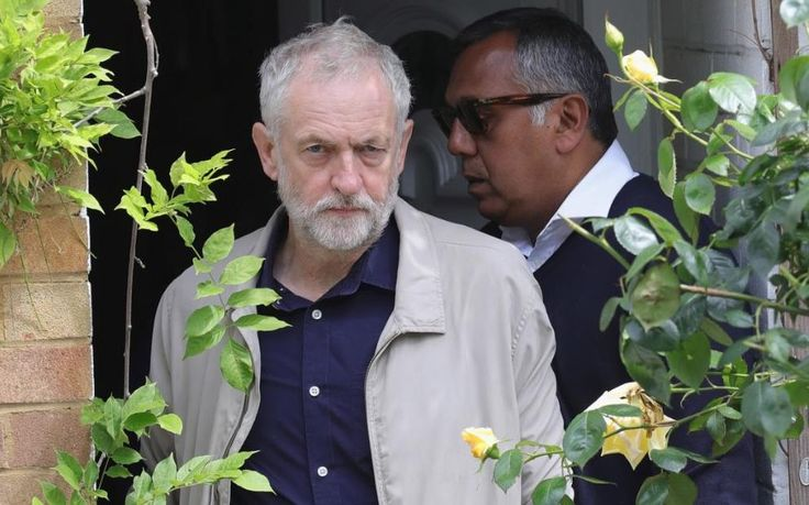 Jeremy Corbyn leaves his home in North London as resignations from his shadow cabinet continue.In the wake of shadow foreign secretary Hilary Benn being fired by Corbyn, ten of the Labour shadow cabinet have resigned.