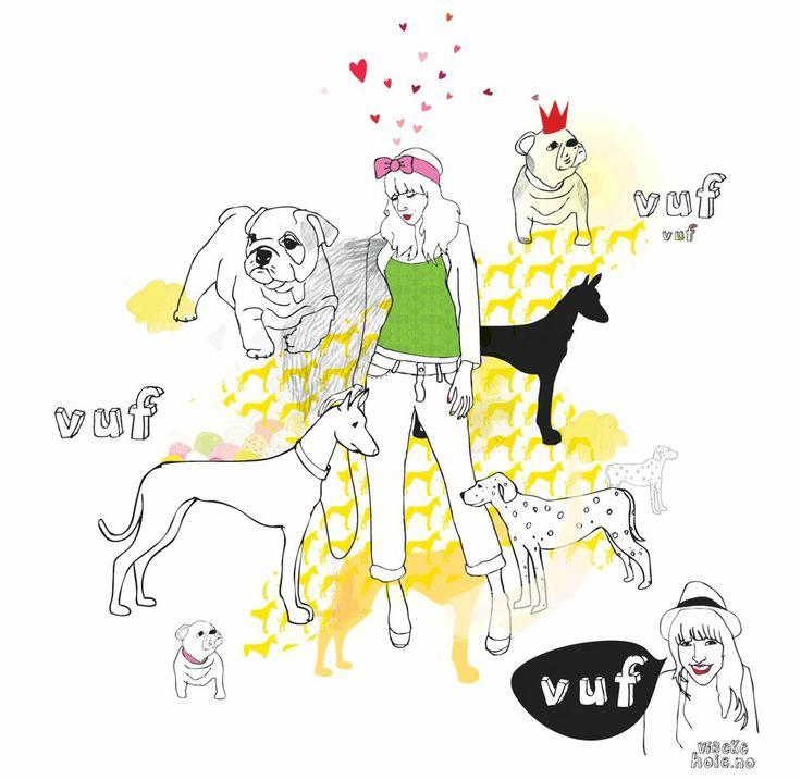 House of Bulldogs: Fine illustrasjoner