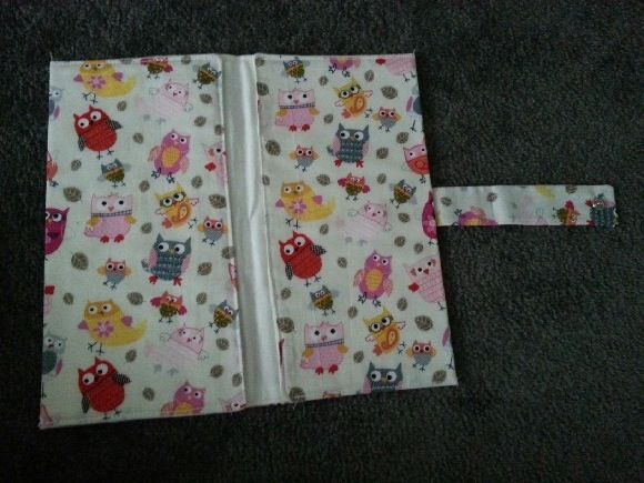 Nappy Wallet Clutch - You're a Hoot!  Will never go out without this! So handy and keeps everything together. Holds cream, nappies and travel wipes.