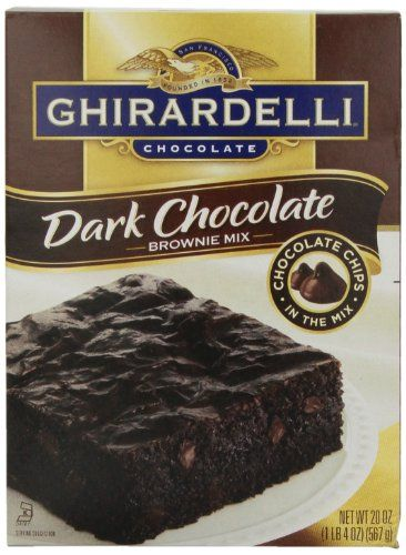 Ghirardelli Dark Chocolate Brownie Mix 20 oz ** Check out the image by visiting the link.