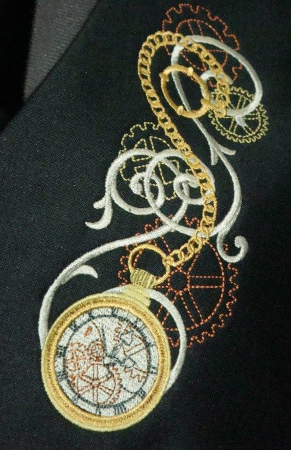 17 Best Images About Needlepoint Steampunk On Pinterest