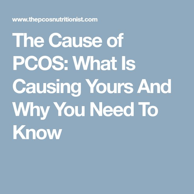 The Cause of PCOS: What Is Causing Yours And Why You Need To Know