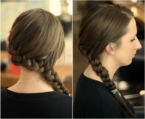 The Katniss Everdeen braid
