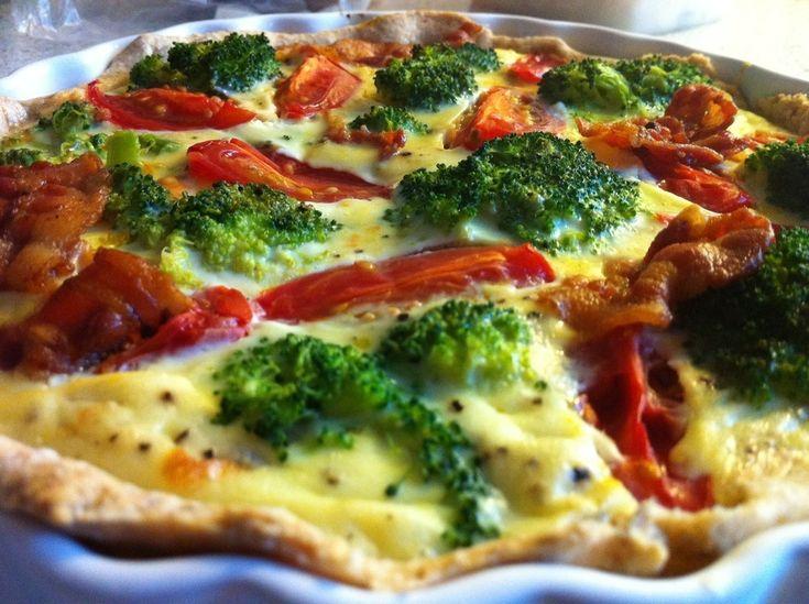 grøntsagstærte med karry