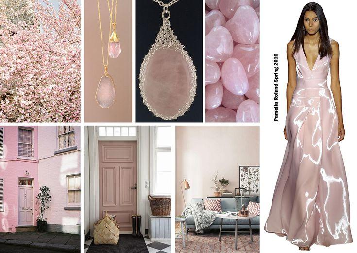 Color trends Spring 2016 - Rose quartz / Divatszínek 2016 tavasz - Rózsakvarc