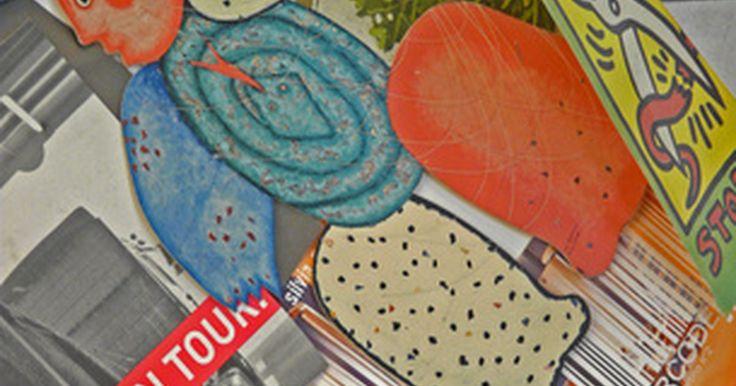 """Cómo hacer un collage de papel. Los artistas profesionales, niños y otras personas creativas han creado hermosas obras de arte al colocar materiales juntos para formar una imagen, un collage. La palabra """"collage"""" viene de la palabra en francés """"coller"""" que significa pegar o empastar. El arte del collage consiste en diferentes materiales como la tela, madera o papel que se pegan ..."""