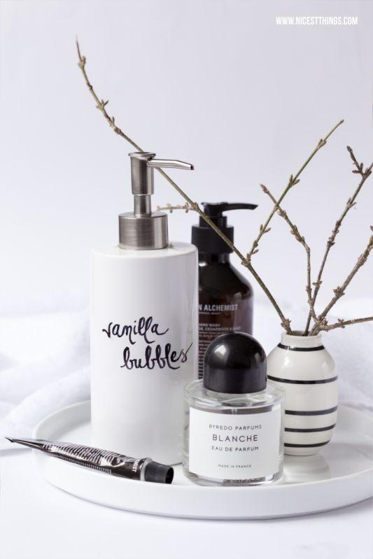 DIY: Vanille Badeschaum selber machen