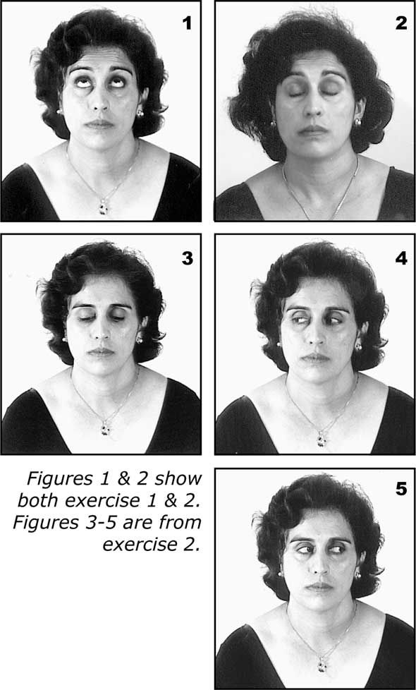 Benefits of eye exercises:  Improves eyesight (short and farsightedness)   Soothes tired eyes   Lubricates dry eyes   Relaxes overworked optical nerves  Relieves irritability and itchiness   Improves eyesight  Alleviates tension headaches and insomnia   Helps people of all ages   Helps people with   Prevents glaucoma and cataract