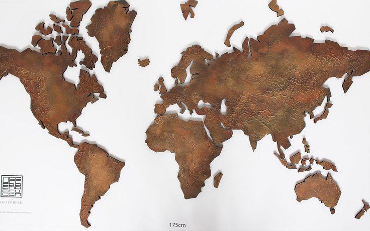 Kaart wereld
