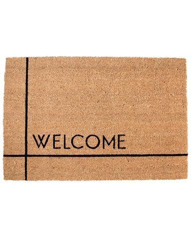 modern welcome doormat modern home decor pinterest home home rh pinterest com