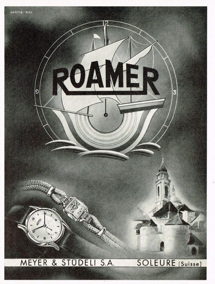 1948 Roamer ad ‹ Strickland Vintage Watches